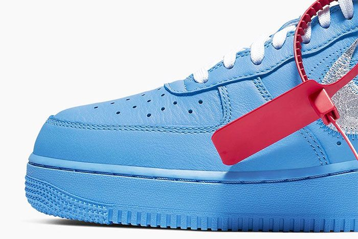 Off White Nike Air Force 1 Mca Toe Close