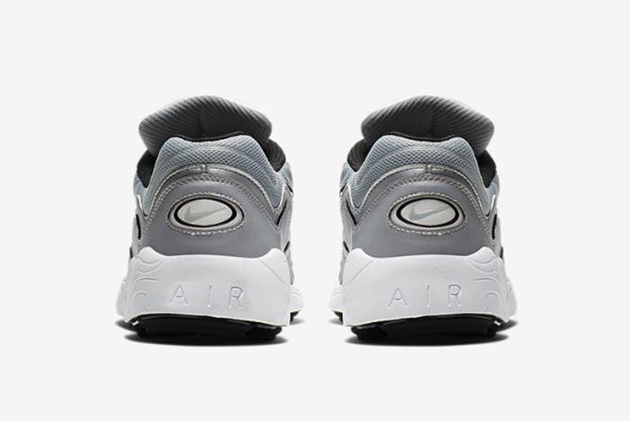 Nike Air Zoom Aplha Silver Bq8800 001 Heel Shot