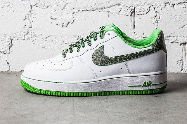 Nike Air Force 1 Green Apple 4