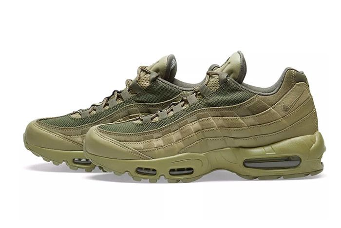 3 Nike Air Max 95 Olive Sneaker Freaker