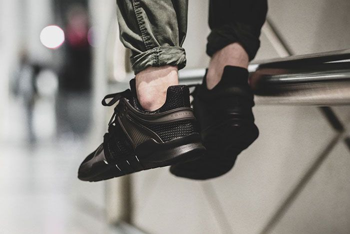 Adidas Eqt Adv Support Triple Black 2