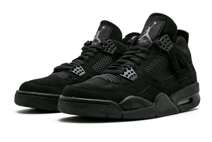 Air Jordan 4 Black Cat Toe