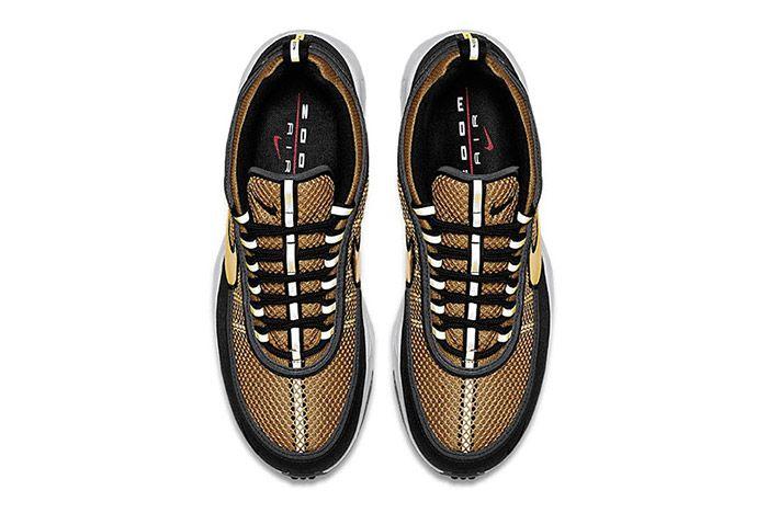 Nike Air Zoom Spiridon Metallic Gold 3