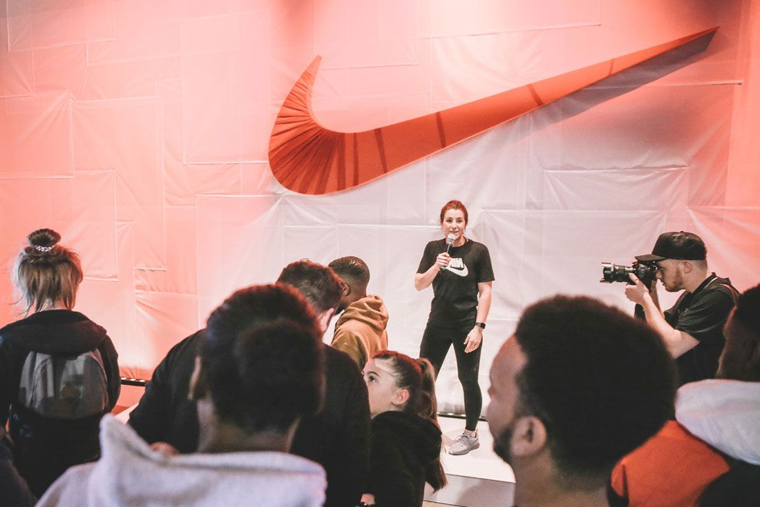 Nike Ekin Niamh Event