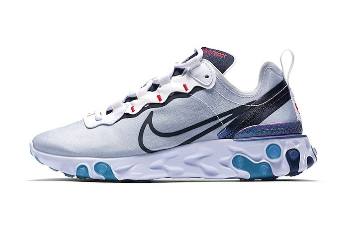 Nike React Element 55 Magpie Cn5798 101 Release Date Lateral