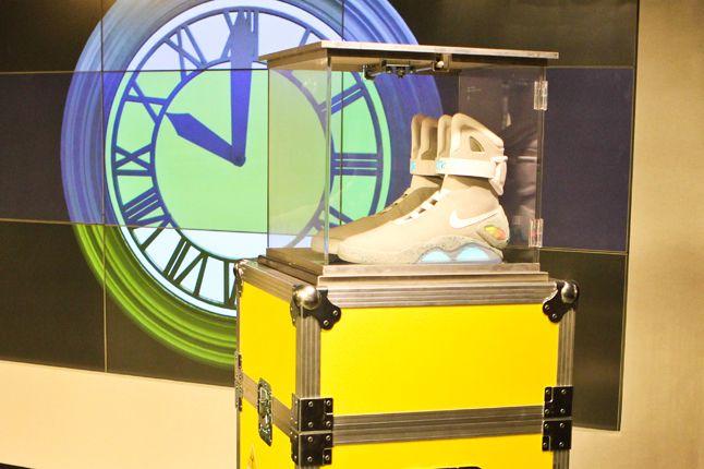 Nike Mcfly London Event Clock 1