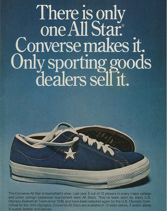 History Of Converse One Star Advertisement Cropped 1
