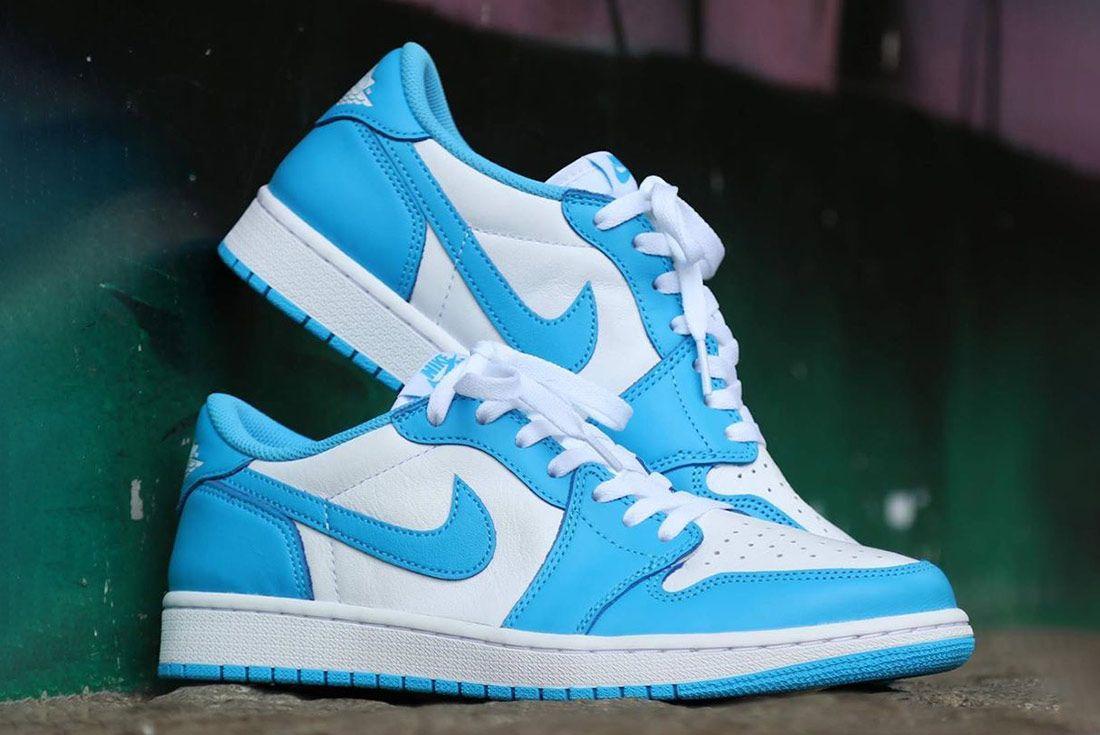 densidad carga erótico  Where to Buy the Nike SB Air Jordan 1 Low 'Dark Powder Blue' - Sneaker  Freaker