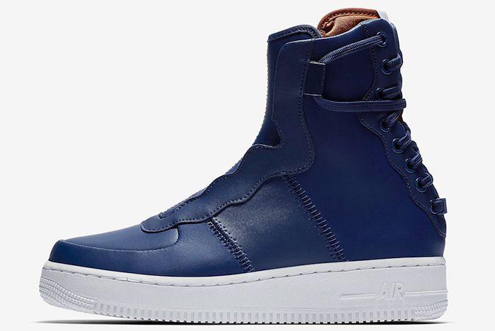 Nike Af1 Rebel Blue Volt 1