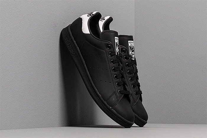 Triple Black Adidas Stan Smith Back To School