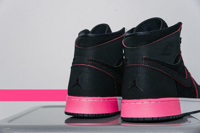 Air Jordan 1 High Gg Black Hyper Pink2