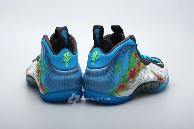 Nike Air Foamposite One Weatherman Heel Profile 1