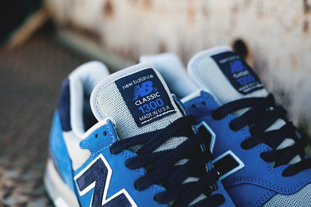 New Balance 1300 Blue Suede American Rebels Pack 3