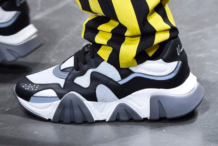 Versace Debut New Sneaker Milan 1
