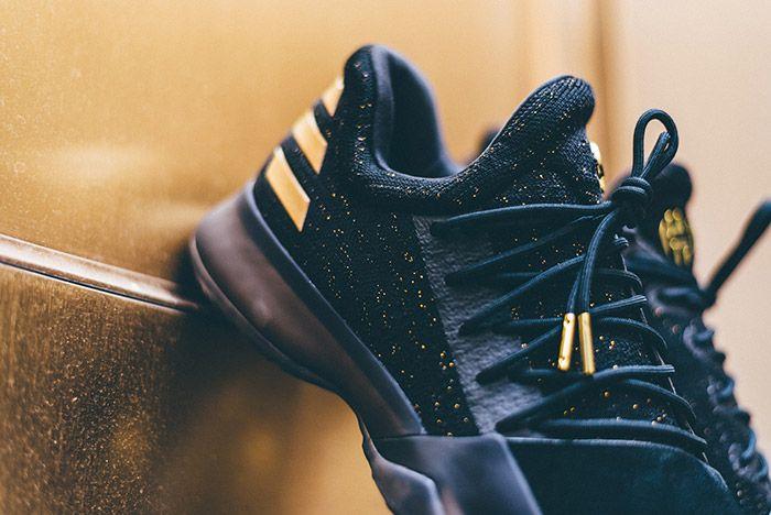 Adidas Harden Vol 1 Imma Be A Star Black Gold 3