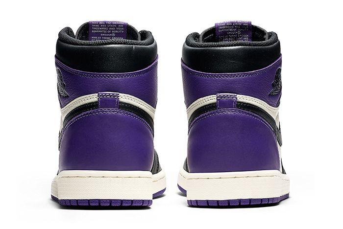 Air Jordan 1 Retro High Og Pine Green Court Purple 6