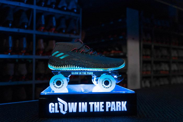 Adidas Dame 4 Glow In The Park 3