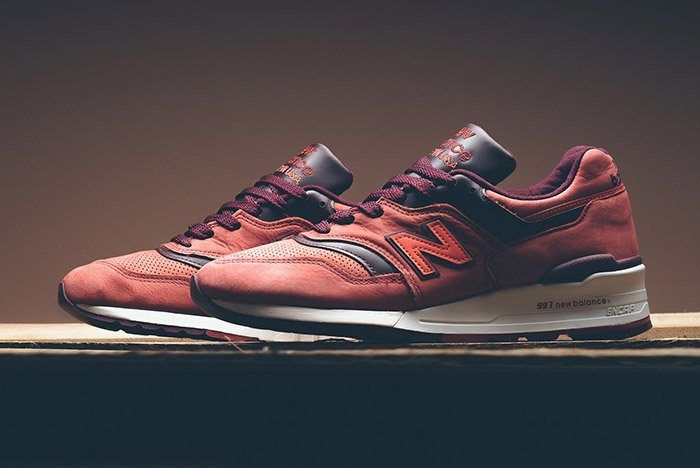 New Balance Horween 997 Red Clay 7