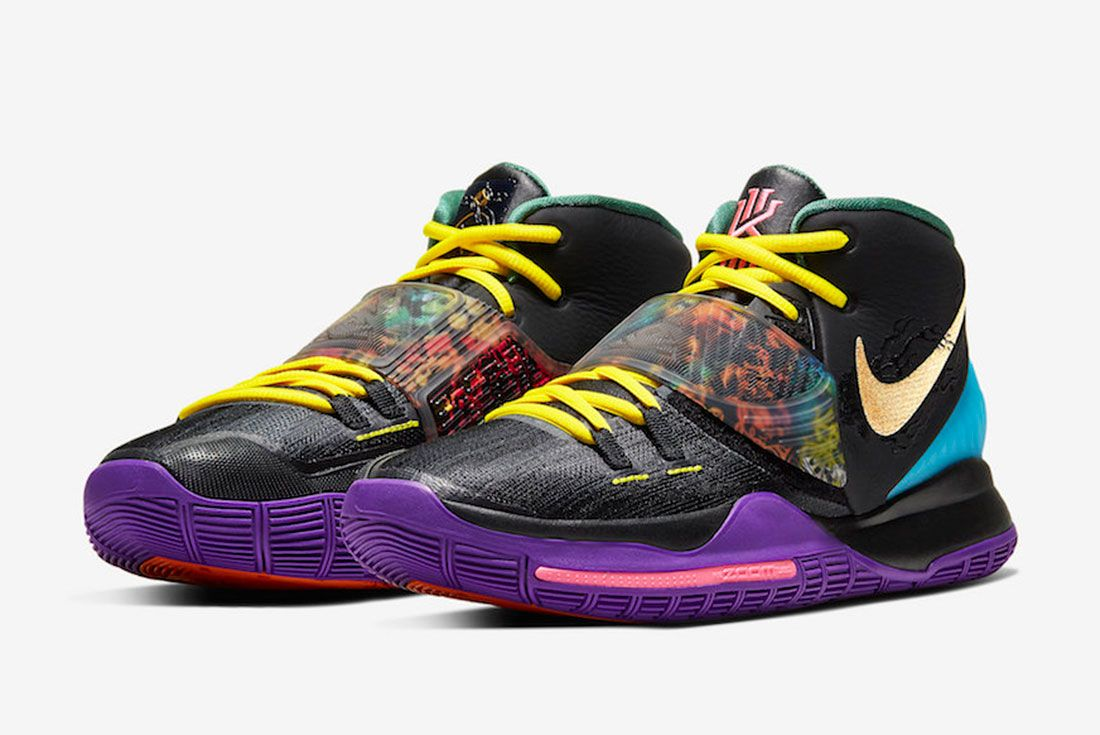 Nike Kyrie 6 Chinese New Year Cd5029 001 Release Date 4 Official
