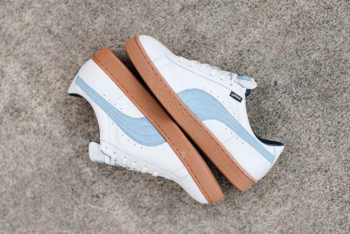 Puma Basket Gpx Gore Tex White Blue Gum 3