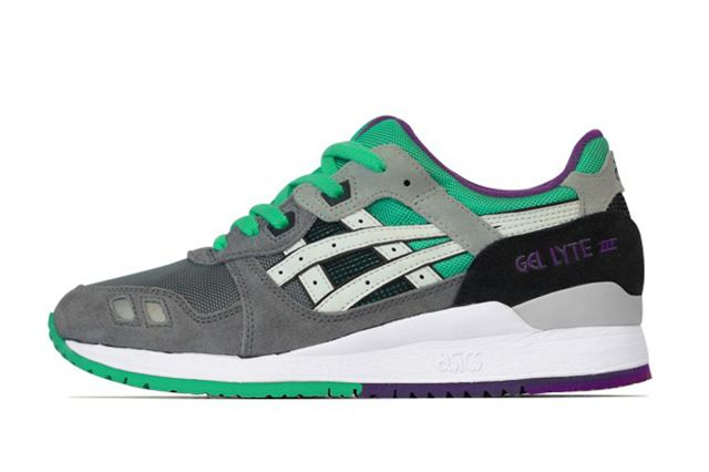 Asics Gel Lyte Iii Green Purple 21