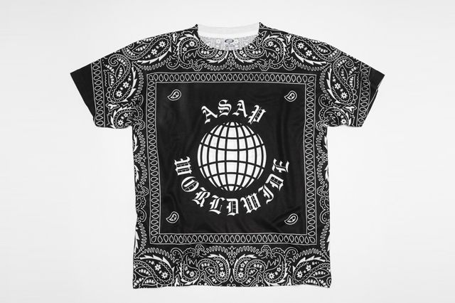 Asap Mob Collection Bandana T Shirt
