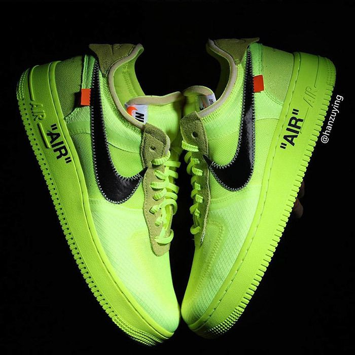 Off White Nike Air Force 1 Low Volt 8