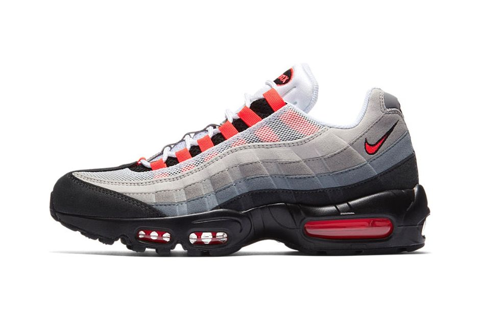 Nike Air Max 95 Solar Red 1 Sneaker Freaker