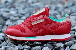 Reebok Cl Leather Utility Red Teal Dp