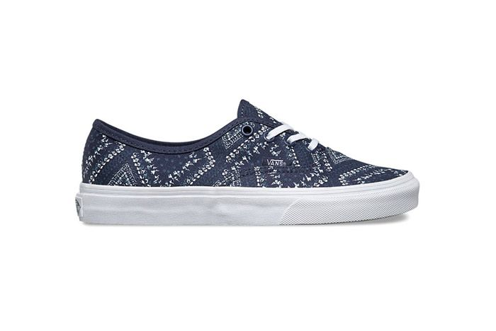 Vans Disty Bandana Womens Authentic Red