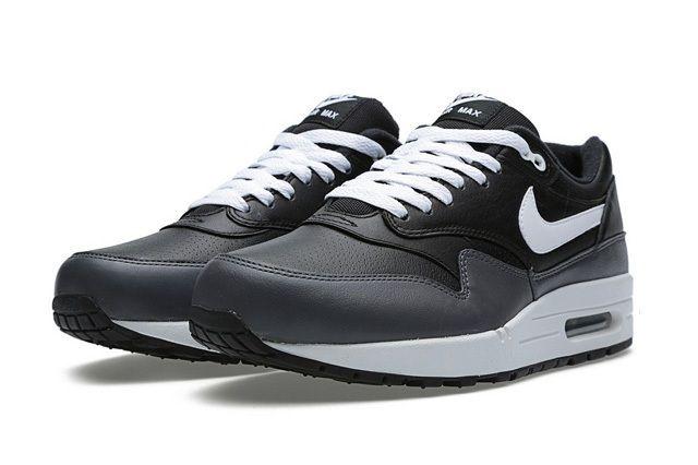 Nike Air Max 1 Black Dark Grey 4