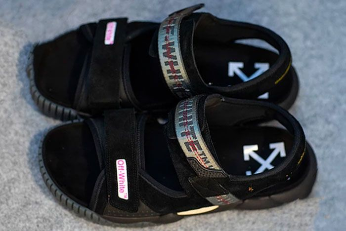 Off White Sandals Black Pfw Ss19