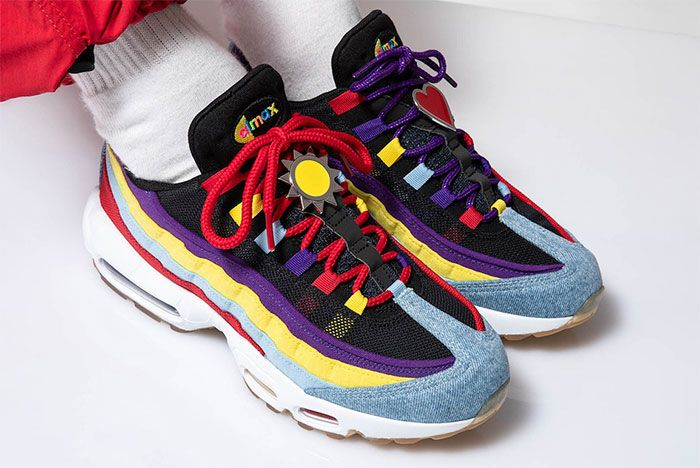Nike Air Max 95 Sp Multicolor Right Top