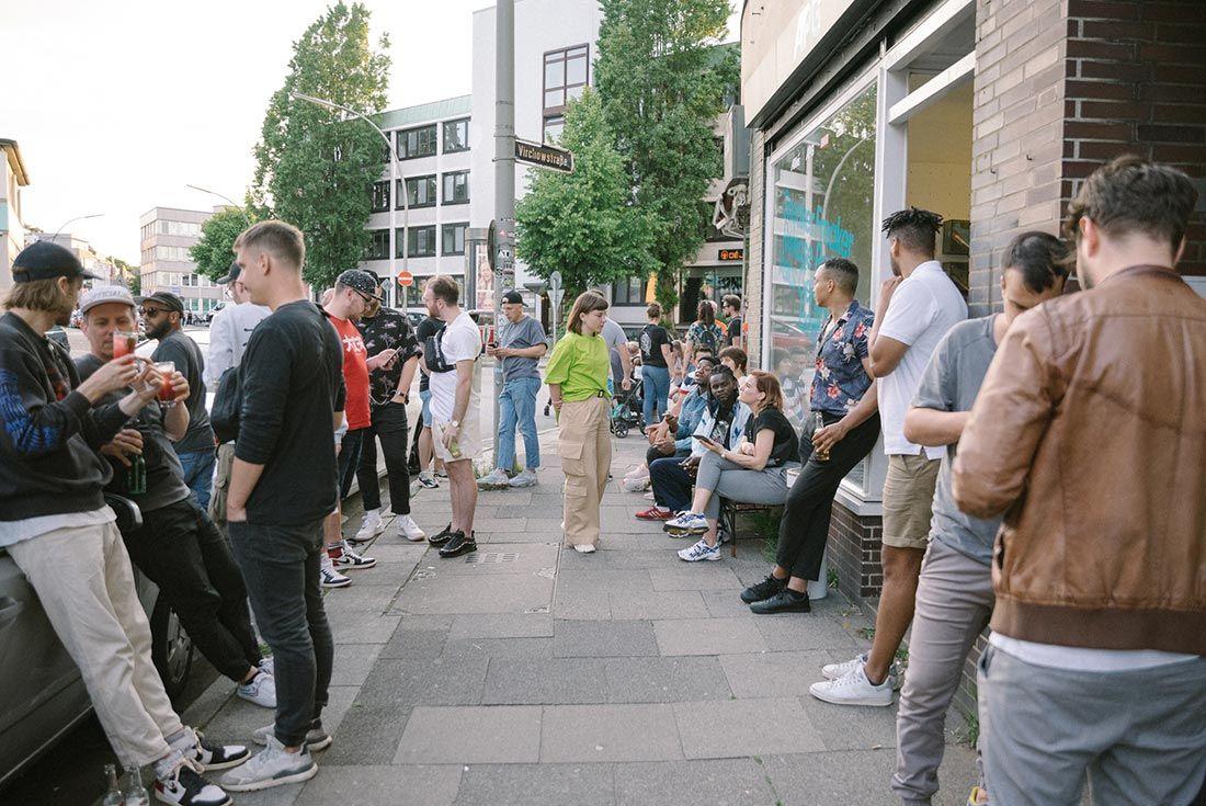 Allike Asics Sneaker Freaker Event Recap Outside Gathering