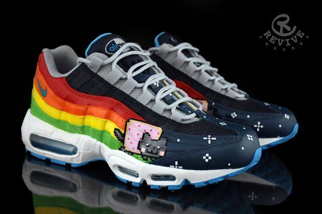 Revive Customs Nike Air Max 95 Nyan 95 1