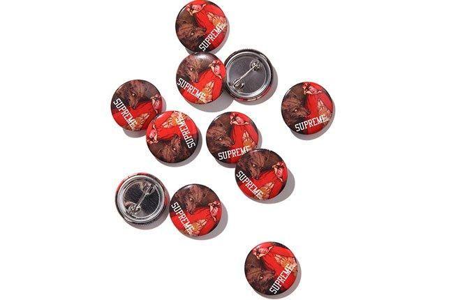 Supreme Red Riding Hood Pin 1