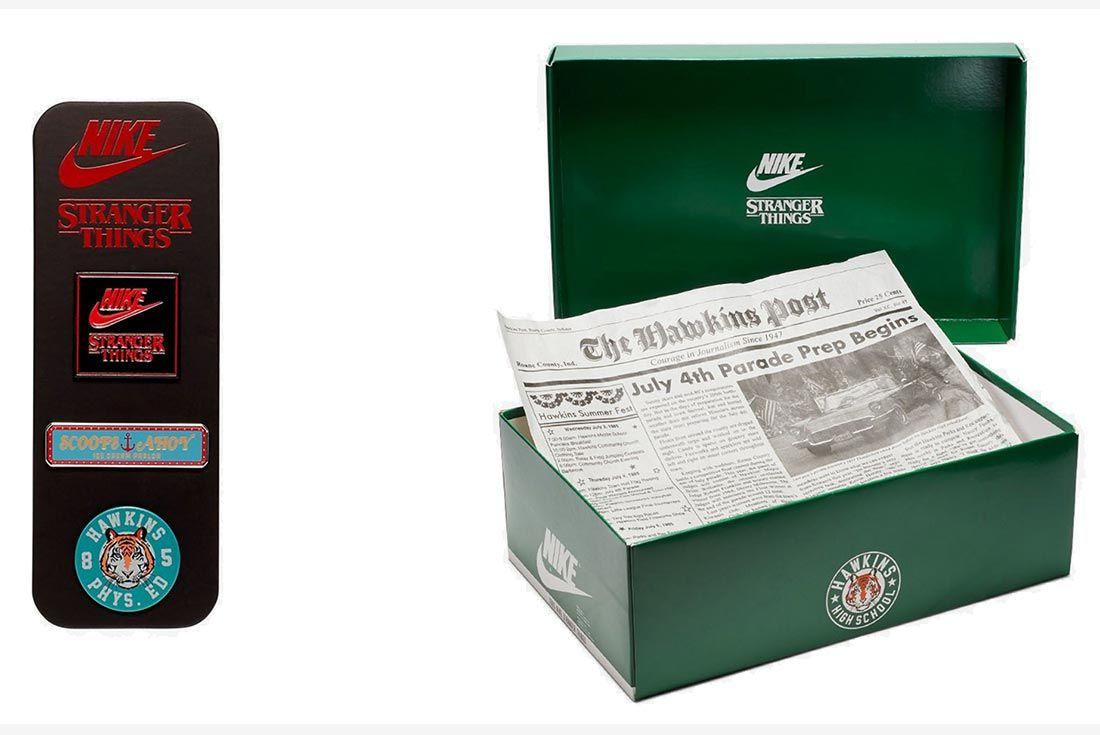 Nike Stranger Things Hawkins High Cj6106 100 Box