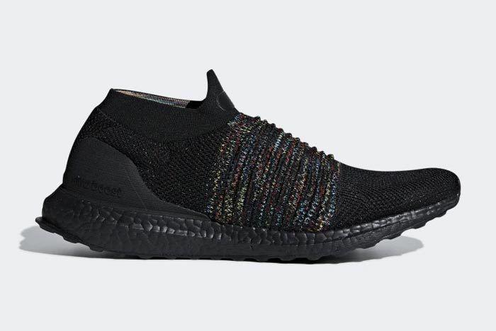 Adidas Ultraboost Laceless Black Multicolour 1