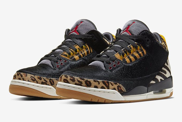 Air Jordan 3 Animal Instinct Toe