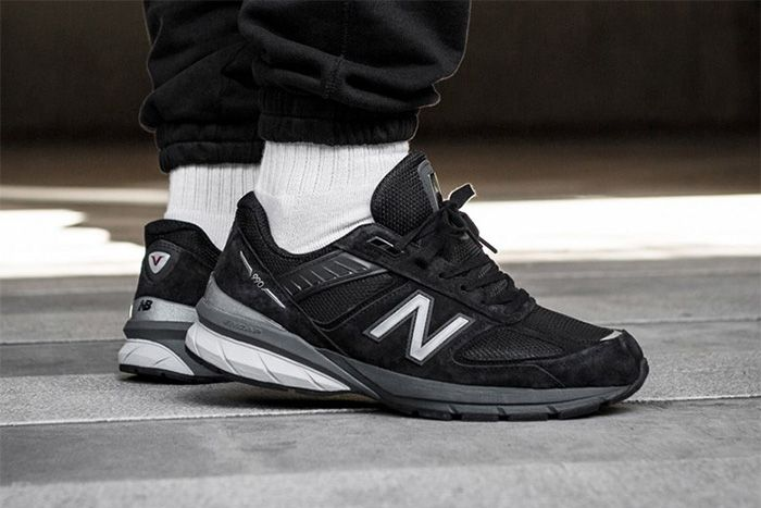New Balance 990V5 Black M990Bk5 Release Date Lateral Hero