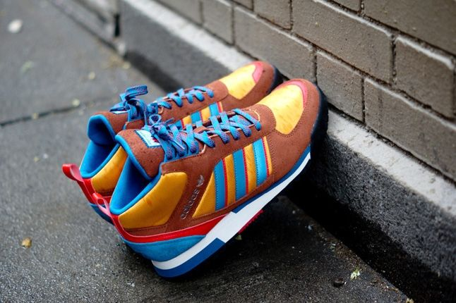 Adidas Zx Tr Mid Brown 4