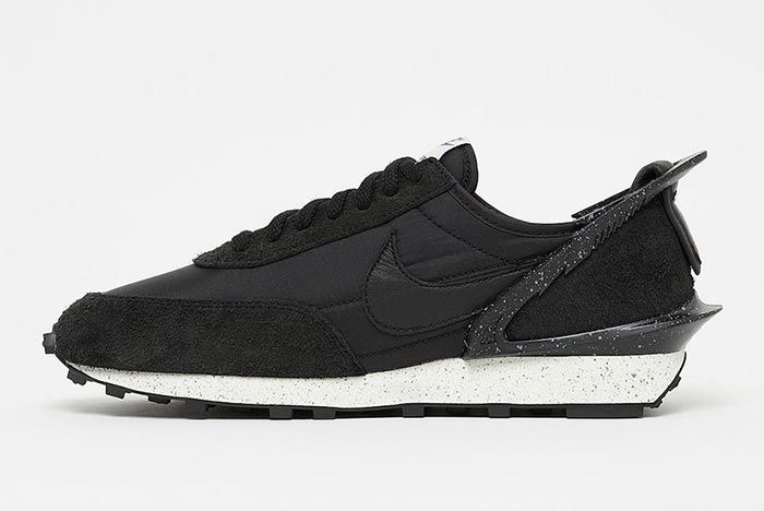 Undercover Nike Daybreak Black Sail Cj3295 001 Medial Side Shot
