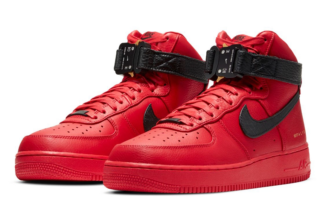 ALYX x Nike Air Force 1 High University Red