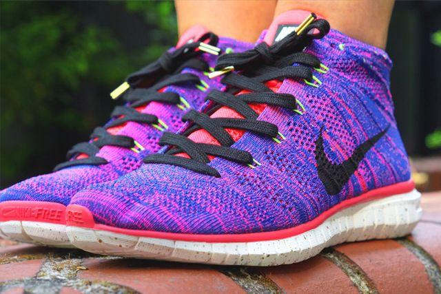 Nike Free Flyknit Chukka Qs Mercurial