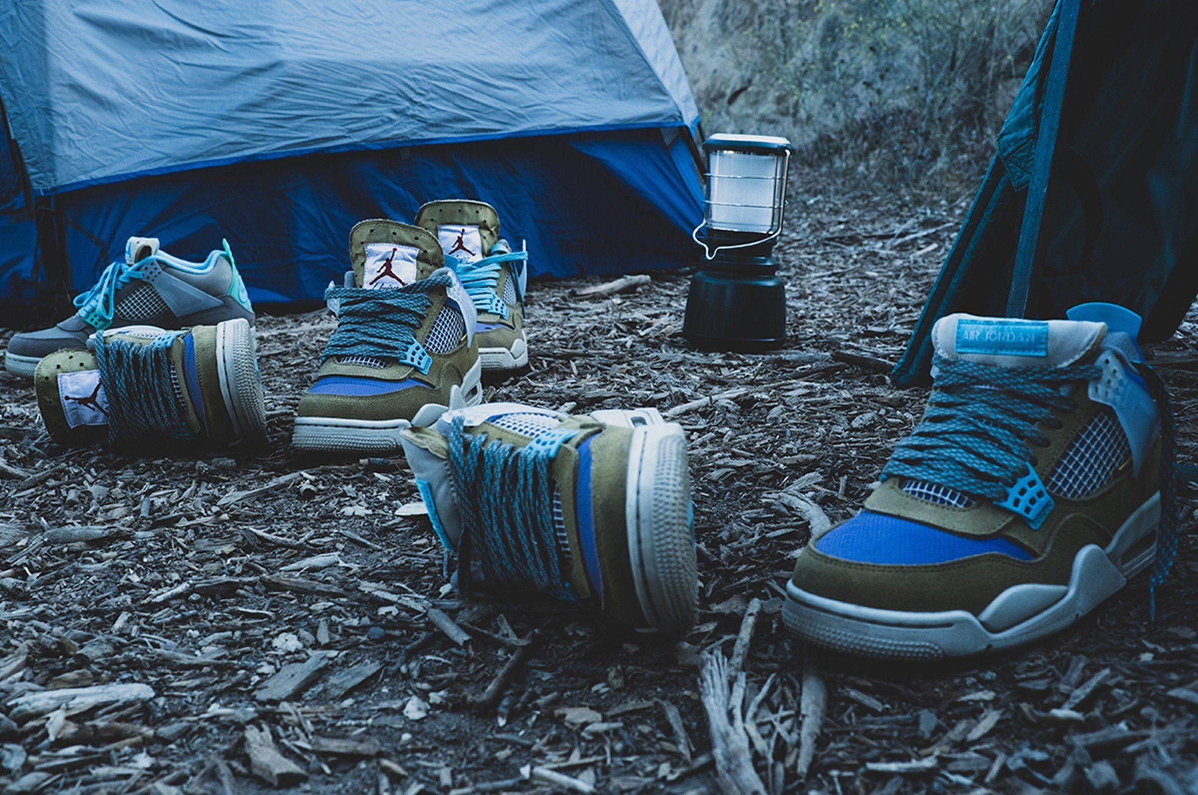 Union x Air Jordan 4 Tent and Trail