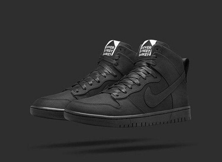Dover Street Market Nike Dunk High Lux Black 1