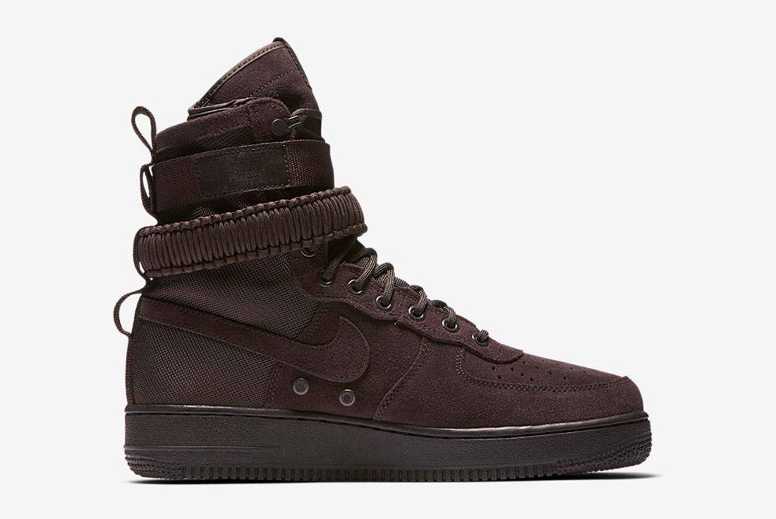 Nike Sf Air Force 1 Velvet Brown9