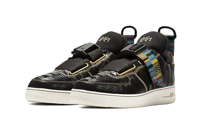 Nike Air Force 1 Utility Bhm Front Angle Shot 5
