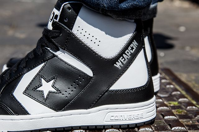 Converse Cons Weapon Mid Black White 1