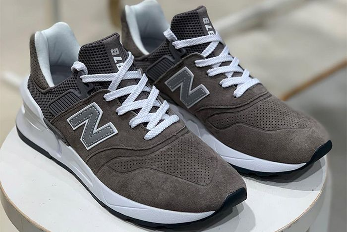 Comme Des Garcons Homme New Balance 997S Grey First Look Shelf